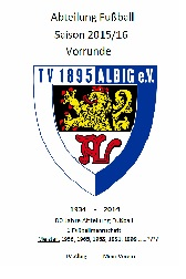 TV Albig Fussball 2015/16 Flyer